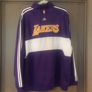fa9d05578a7 adidas Jackets & Coats | Official Nba Lakers Warmup Jacket By | Poshmark